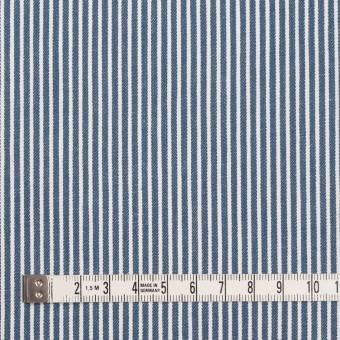 コットン×ストライプ(サックスグレー)×薄デニムヒッコリー サムネイル4