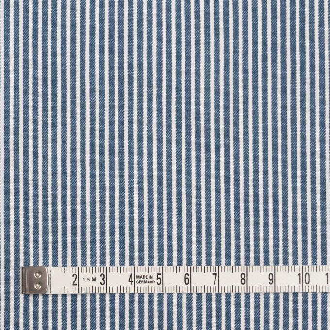 コットン×ストライプ(サックスグレー)×薄デニムヒッコリー イメージ4