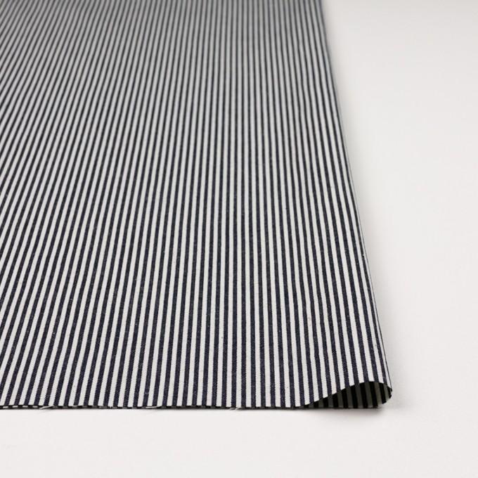 コットン×ストライプ(インディゴ)×ソフトキャンバス イメージ3