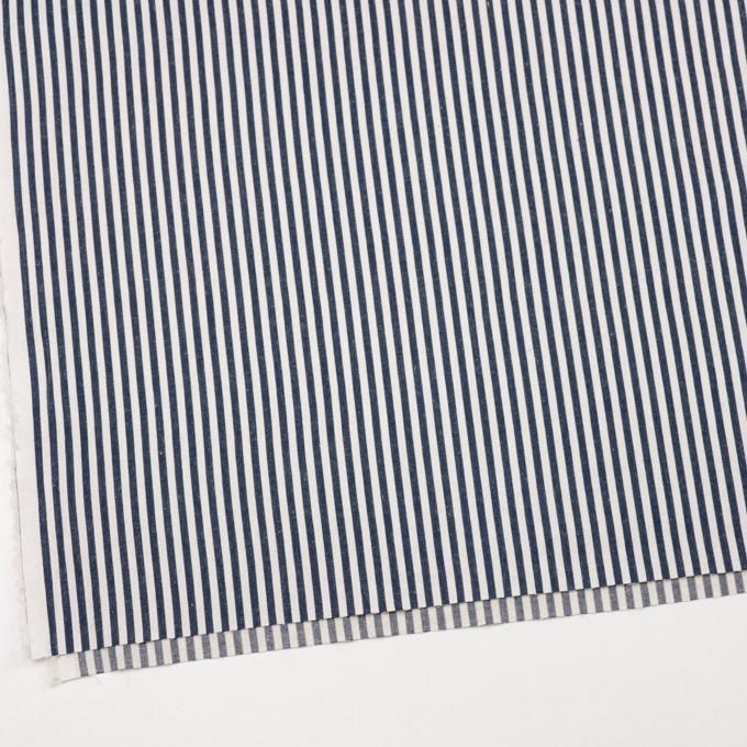 コットン×ストライプ(インディゴ)×薄デニムヒッコリー イメージ2