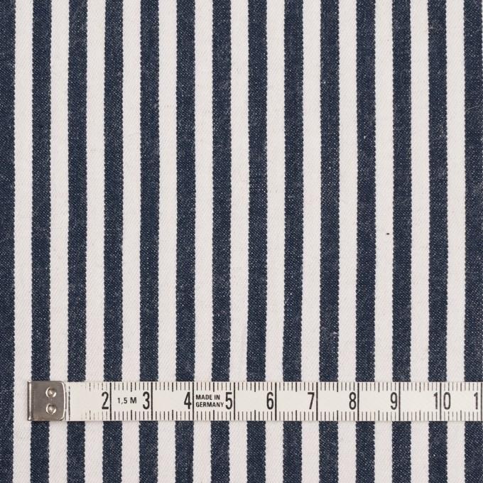 コットン×ストライプ(インディゴ)×薄デニムヒッコリー イメージ4