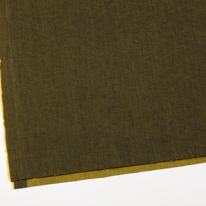 コットン&ポリエステル混×無地(ターメリック)×デニムストレッチ_全4色 イメージ2
