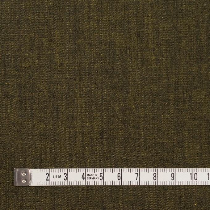 コットン&ポリエステル混×無地(ターメリック)×デニムストレッチ_全4色 イメージ4