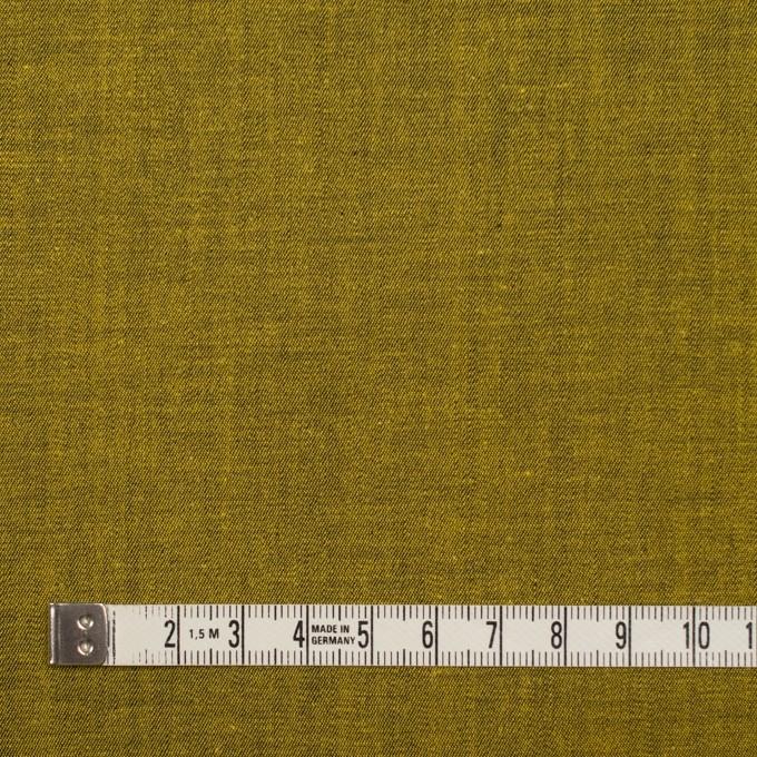 コットン&ポリエステル混×無地(ターメリック)×デニムストレッチ_全4色 イメージ5