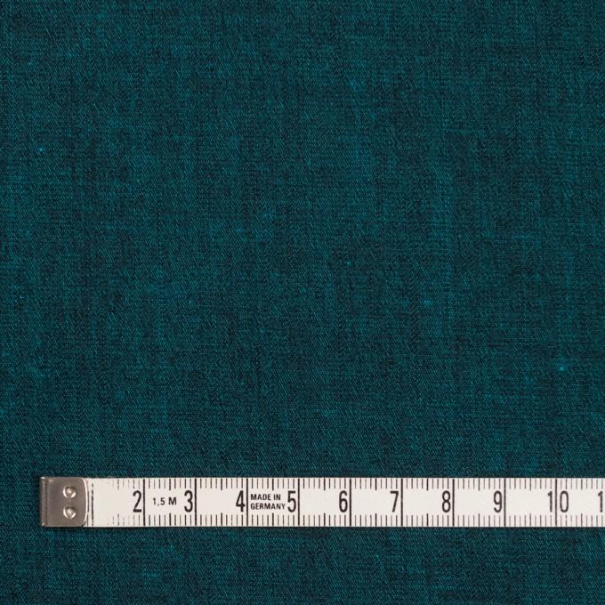 コットン&ポリエステル混×無地(ターコイズ)×デニムストレッチ_全4色 イメージ4