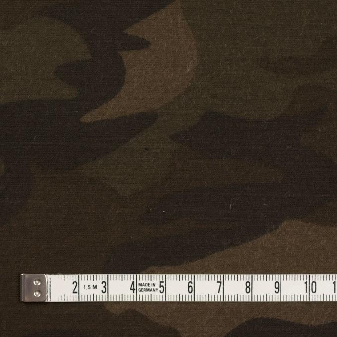 コットン&ポリウレタン×迷彩(ブラウンミックス)×チノクロス・ストレッチ イメージ4