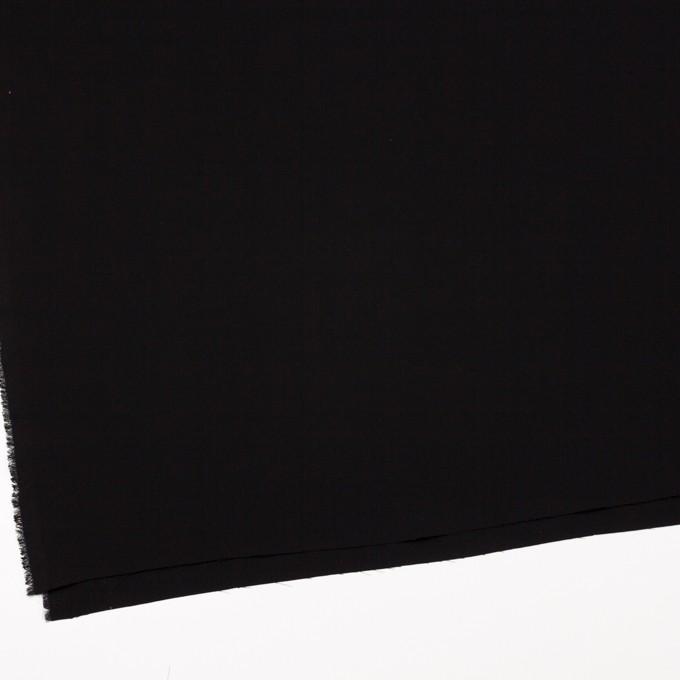 ポリエステル×無地(ブラック)×かわり織 イメージ2