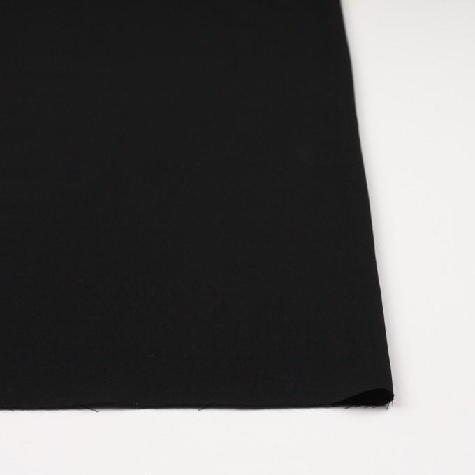 ポリエステル×無地(ブラック)×かわり織 イメージ3