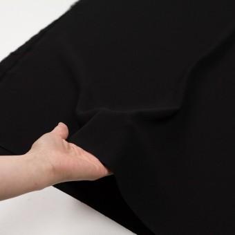 ポリエステル×無地(ブラック)×かわり織 サムネイル5