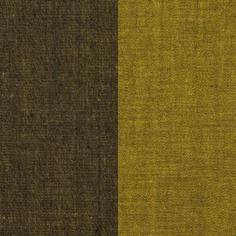 コットン&ポリエステル混×無地(ターメリック)×デニムストレッチ_全4色 サムネイル1