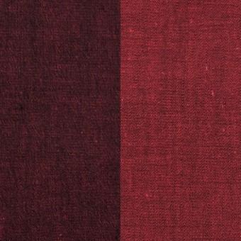 コットン&ポリエステル混×無地(アップル)×デニムストレッチ_全4色 サムネイル1