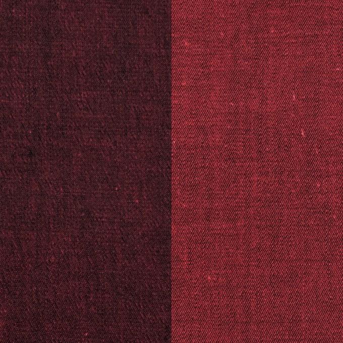 コットン&ポリエステル混×無地(アップル)×デニムストレッチ_全4色 イメージ1