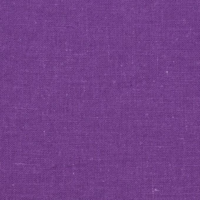 リネン&コットン×無地(パープル)×シーチング_全36色 イメージ1