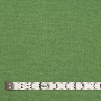 リネン&コットン×無地(リーフグリーン)×シーチング_全36色 サムネイル4