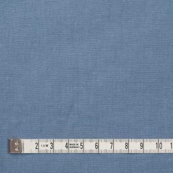 リネン&コットン×無地(ピジョンブルー)×シーチング_全36色 サムネイル4