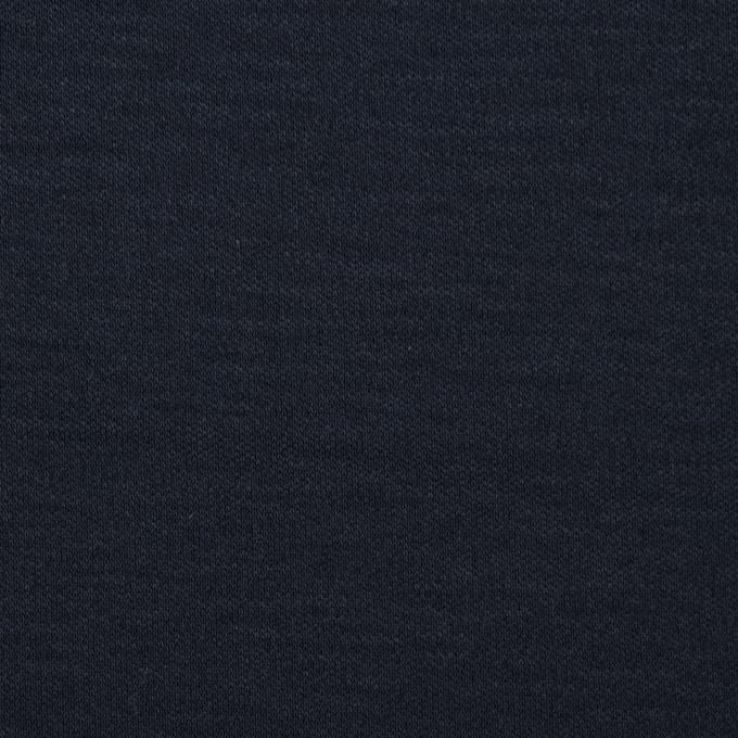 コットン&モダール×無地(ダークネイビー)×スムースニット イメージ1