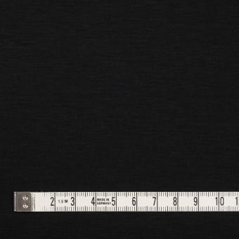 コットン&モダール×無地(ブラック)×スムースニット サムネイル4