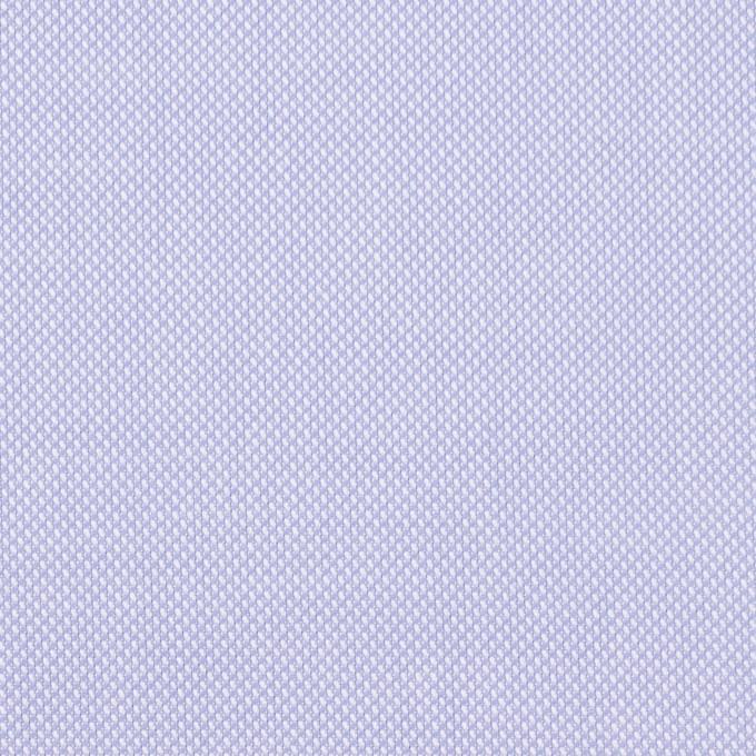 コットン×無地(ペールラベンダーブルー)×オックスフォード イメージ1