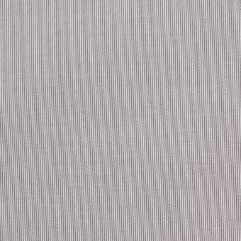 【130cmカット】コットン×ストライプ(チャコール)×ローン_全2色