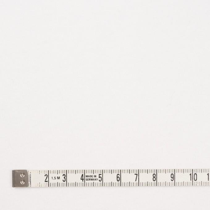 コットン&ポリエステル×無地(ホワイト)×裏毛ニット イメージ4