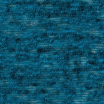 コットン×無地(ターコイズブルー)×メッシュニット サムネイル1
