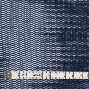 コットン×無地(ブルー)×キャンバス サムネイル4