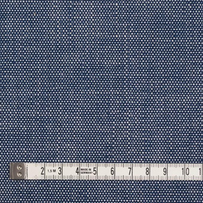コットン×無地(ブルー)×キャンバス イメージ4