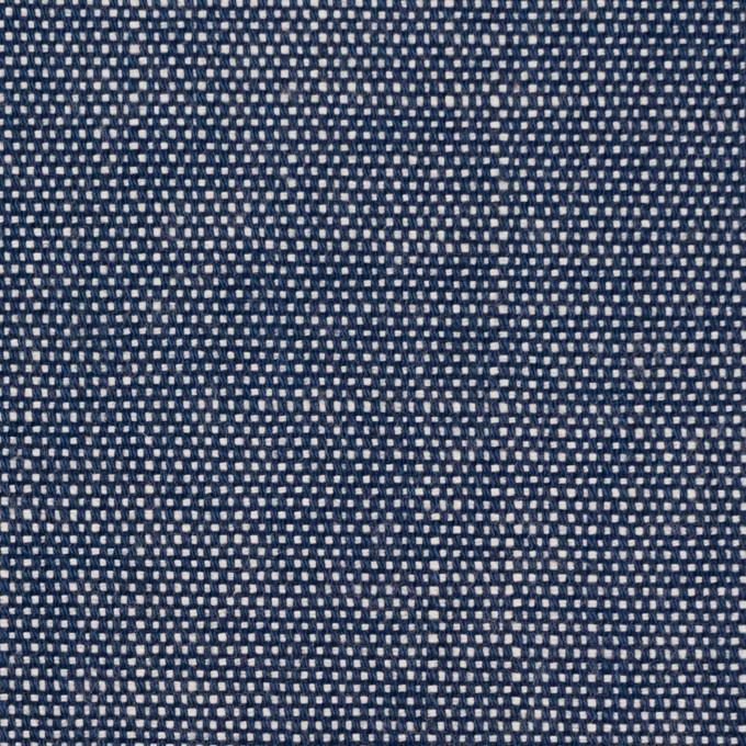 コットン×無地(ブルー)×キャンバス イメージ1