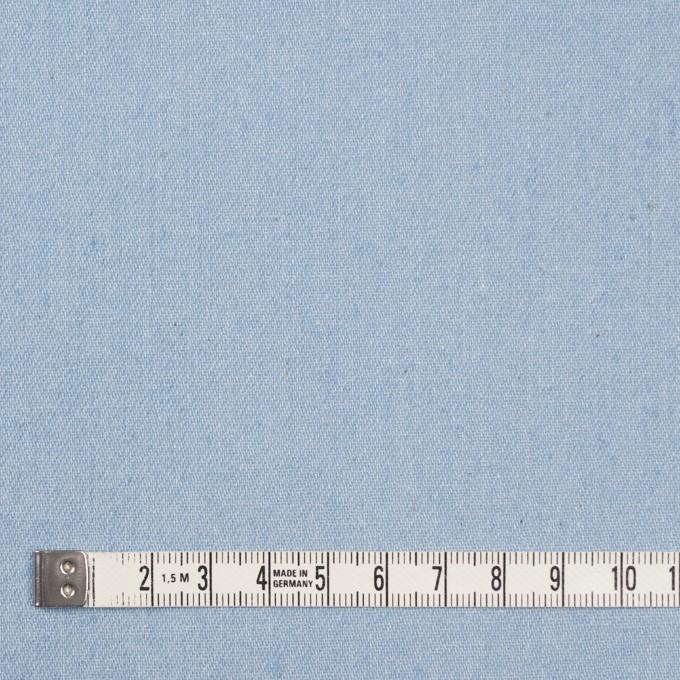 コットン×無地(サックス)×ソフトデニム イメージ4