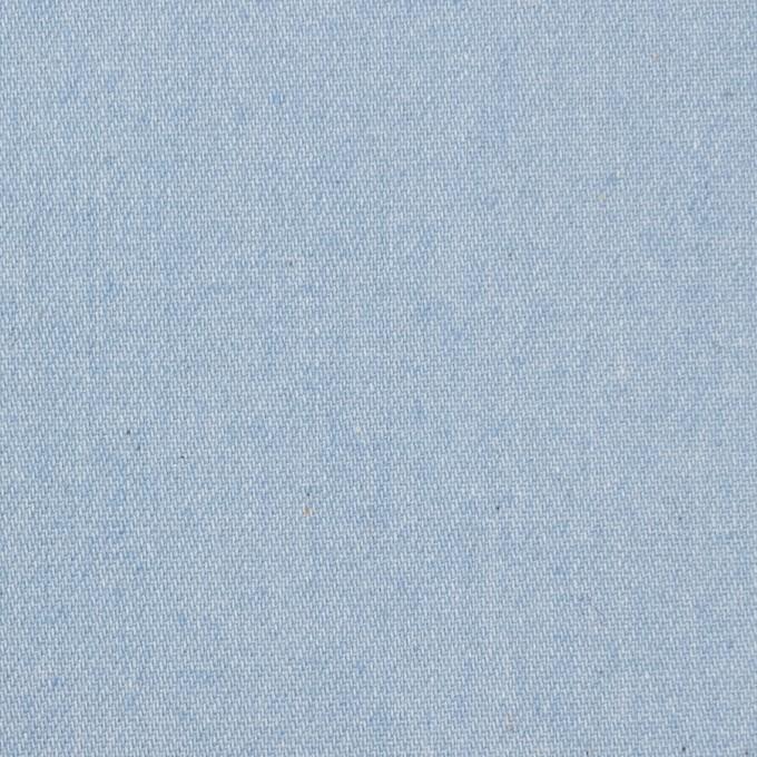 コットン×無地(サックス)×ソフトデニム イメージ1