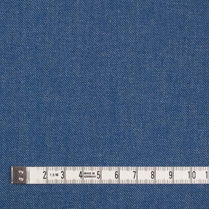コットン&ポリウレタン×無地(ブルー&インディゴ)×Wフェイスデニムストレッチ イメージ4