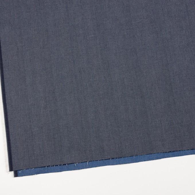 コットン&ポリウレタン×無地(ブルー&インディゴ)×Wフェイスデニムストレッチ イメージ5