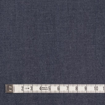 コットン&ポリウレタン×無地(ブルー&インディゴ)×Wフェイスデニムストレッチ サムネイル6