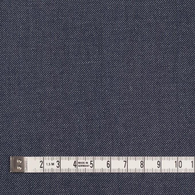 コットン&ポリウレタン×無地(ブルー&インディゴ)×Wフェイスデニムストレッチ イメージ6