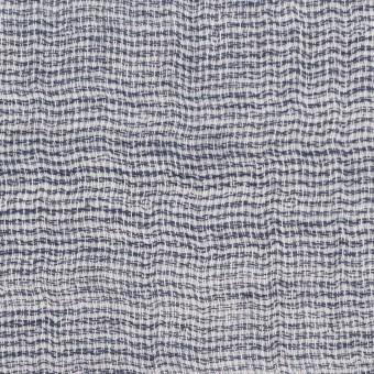 コットン×無地(ブルー)×ガーゼ&ジャガード_全3色 サムネイル1