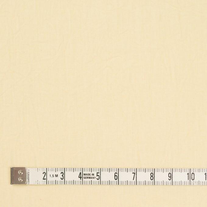 コットン×無地(ペールイエロー)×キャンブリックワッシャー_全5色 イメージ4