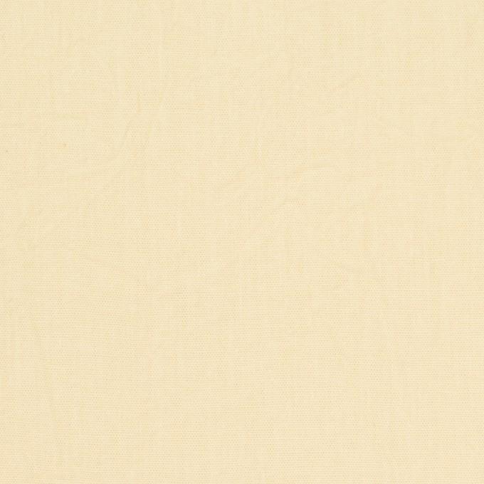 コットン×無地(ペールイエロー)×キャンブリックワッシャー_全5色 イメージ1