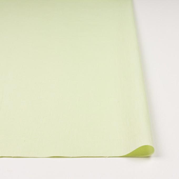 コットン×無地(ペールグリーン)×キャンブリックワッシャー_全5色 イメージ3