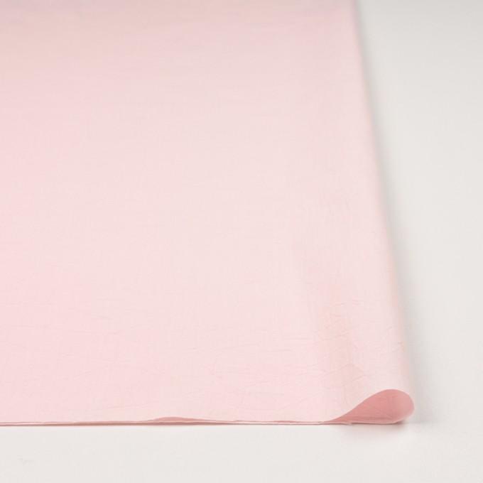コットン×無地(ベビーピンク)×キャンブリックワッシャー_全5色 イメージ3
