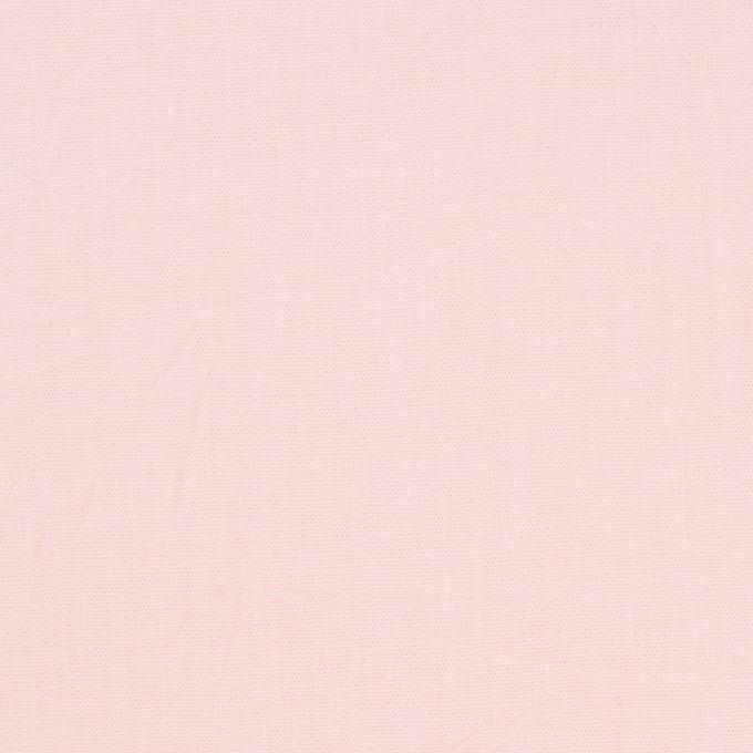 コットン×無地(ベビーピンク)×キャンブリックワッシャー_全5色 イメージ1