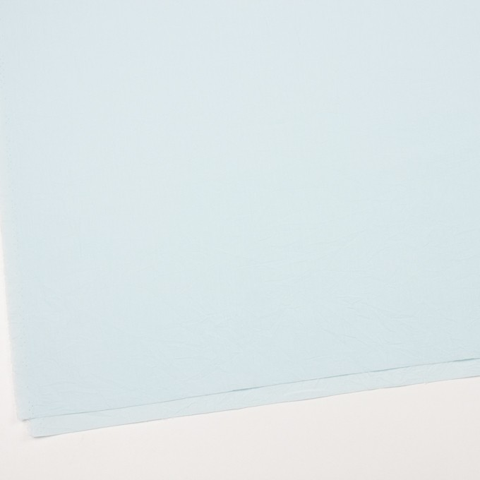 コットン×無地(シャーベットブルー)×キャンブリックワッシャー_全5色 イメージ2