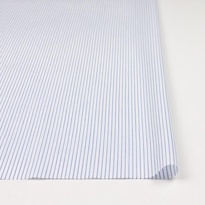コットン×ストライプ(ブルー)×ボイル_全2色 イメージ3