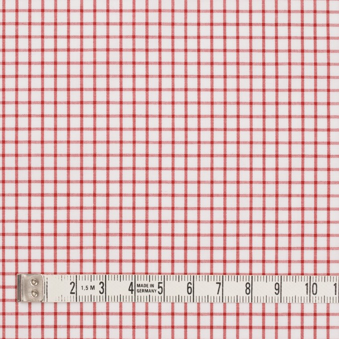 コットン×チェック(レッド)×ブロード_全2色 イメージ4