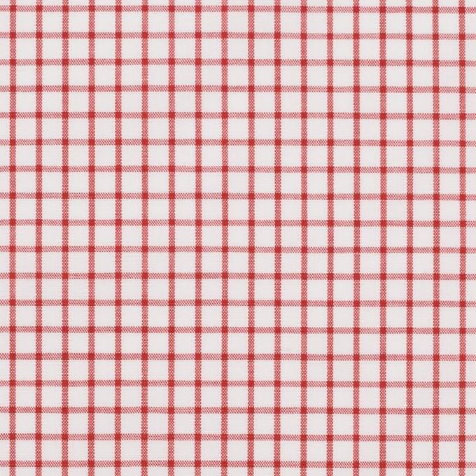 コットン×チェック(レッド)×ブロード_全2色 イメージ1