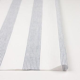 コットン&リネン×ストライプ(オフホワイト)×シーチング_全2色 サムネイル3