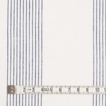 コットン&リネン×ストライプ(オフホワイト)×シーチング_全2色 サムネイル4