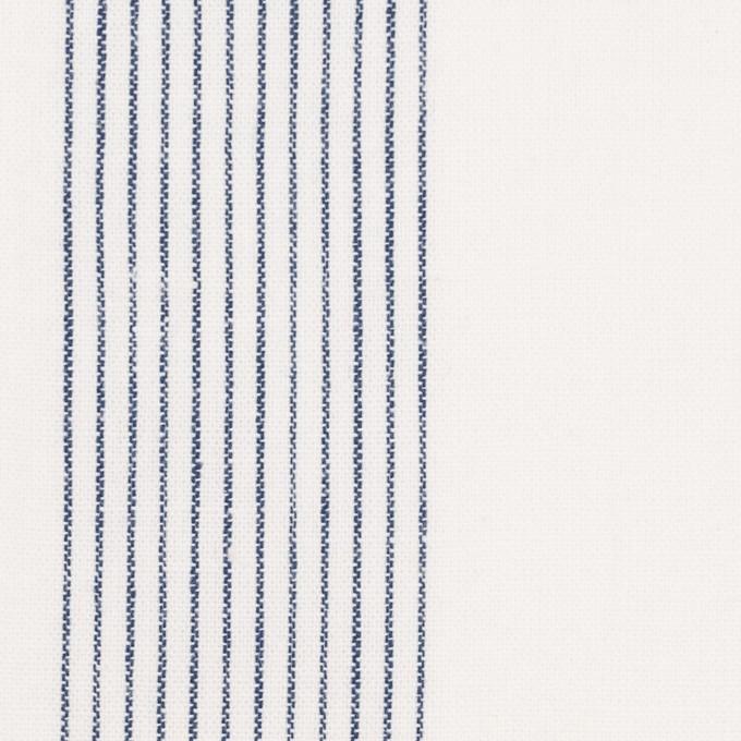 コットン&リネン×ストライプ(オフホワイト)×シーチング_全2色 イメージ1