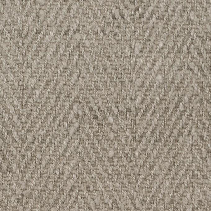 シルク×無地(アッシュグレー)×かわり織_全2色_イタリア製 イメージ1