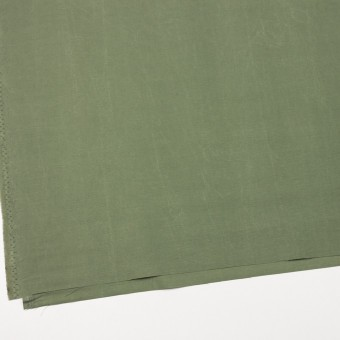 コットン&ナイロン×無地(アイビーグリーン)×リップストップ_全2色_イタリア製 サムネイル2