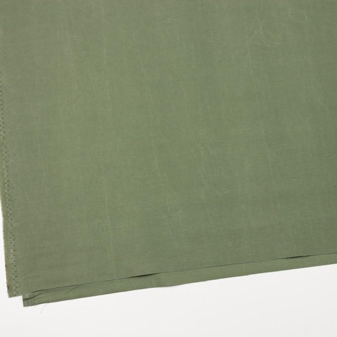 コットン&ナイロン×無地(アイビーグリーン)×リップストップ_全2色_イタリア製 イメージ2